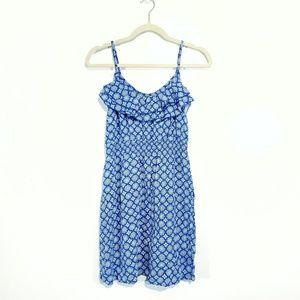 Elle Ruffle Spaghetti Strap Sun Dress Size Medium